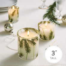 Load image into Gallery viewer, Thymes Gilded Candle - 6 Oz - Frasier Fir