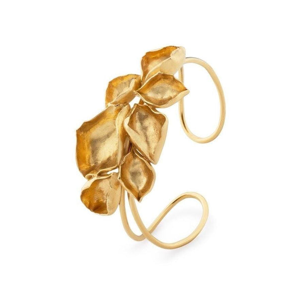Ana Sales Bloom Bracelet MOD Jewellery - 24k Gold plated silver