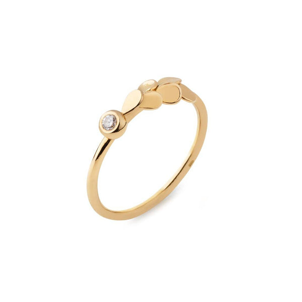 Ana Sales Hin Gold Diamond Ring MOD Jewellery
