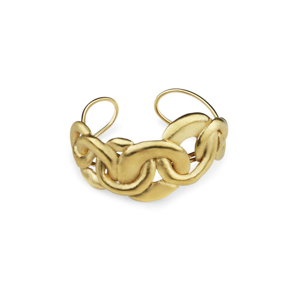 Ana Sales Mero Statement Bracelet MOD Jewellery - 24k Gold plated silver