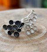 Ana Sales Mush Silver Ring MOD Jewellery