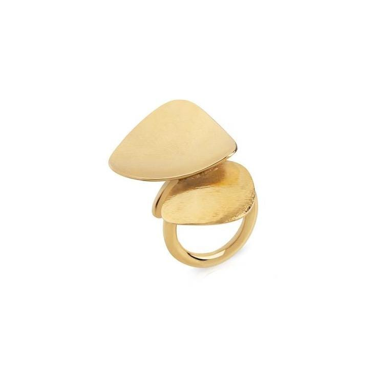 Bruno da Rocha Gold Plated Silver Ring MOD Jewellery