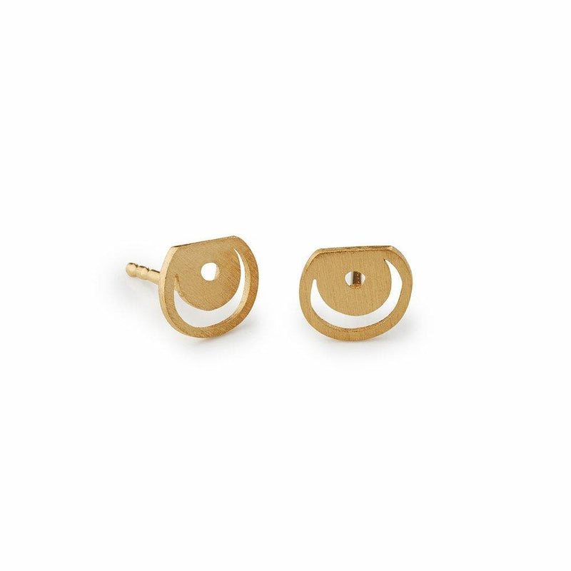 Inês Telles Ellos Mini Earrings MOD Jewellery - 24k Gold plated silver