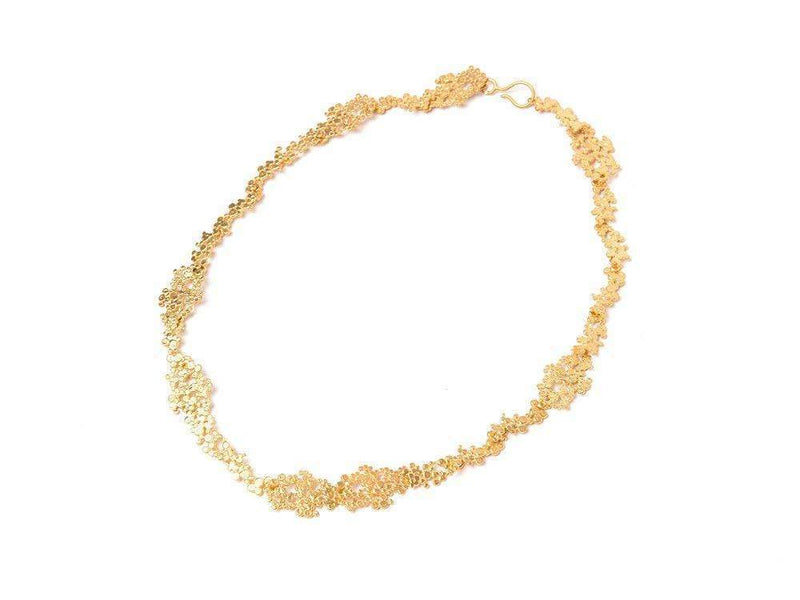 Inês Telles Ilhas Silver Necklace MOD Jewellery - 24k Gold plated silver