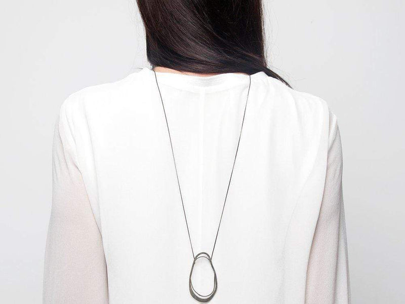 Inês Telles Meatus Silver Necklace MOD Jewellery