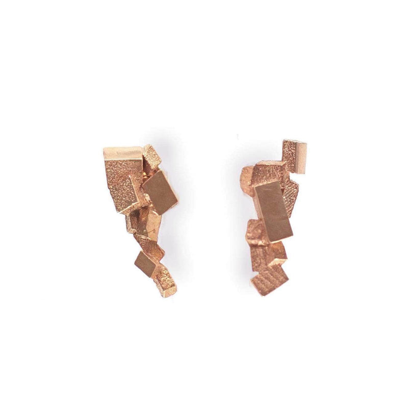 Kathia Bucho City Affairs Earrings MOD Jewellery - Rose Gold Plated