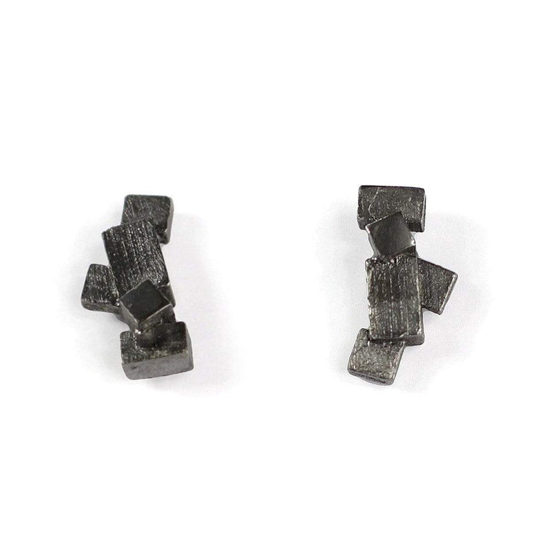 Kathia Bucho City Affairs Earrings MOD Jewellery - Oxidised Silver