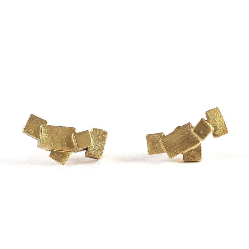 Kathia Bucho City Affairs Earrings MOD Jewellery - Gold Plated