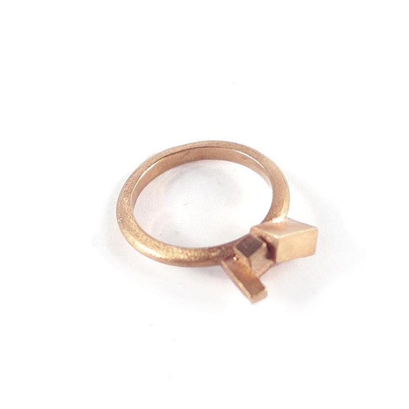 Kathia Bucho City Affairs Ring MOD Jewellery - Rose Gold Plated