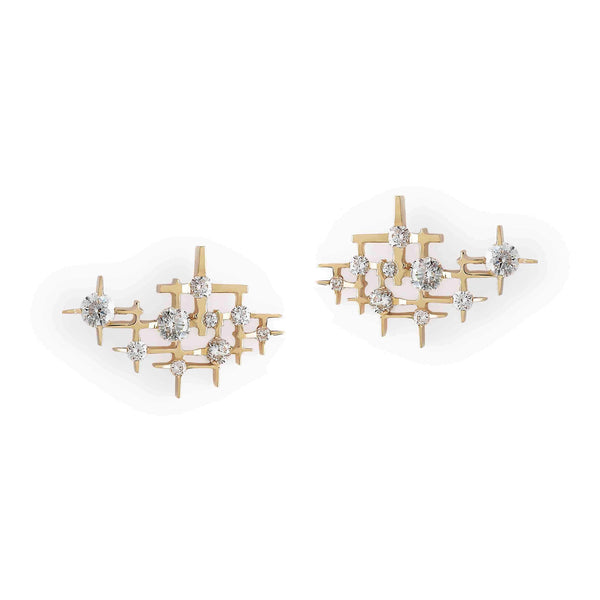 Mater Pyxis Gold Earrings MOD Jewellery