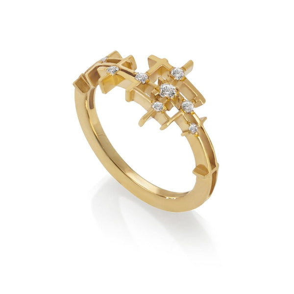 Mater Pyxis Gold Ring MOD Jewellery