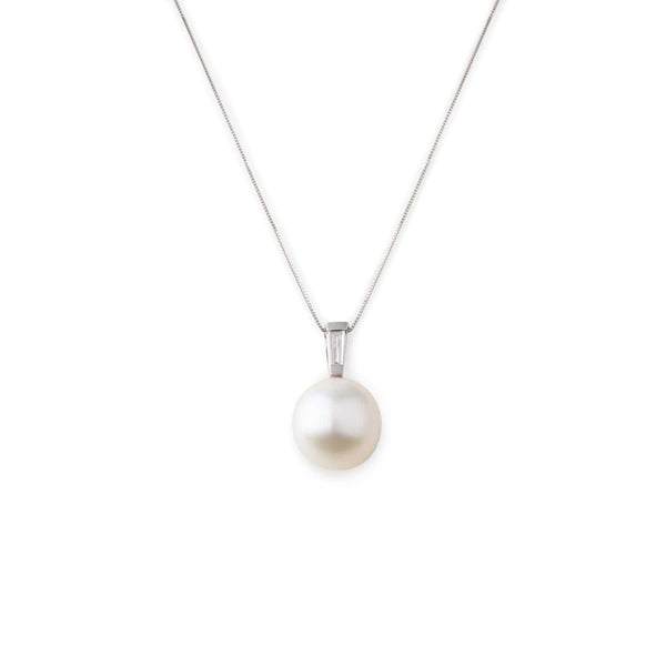 MOD Jewellery Aura Pearl Diamond Necklace MOD Jewellery