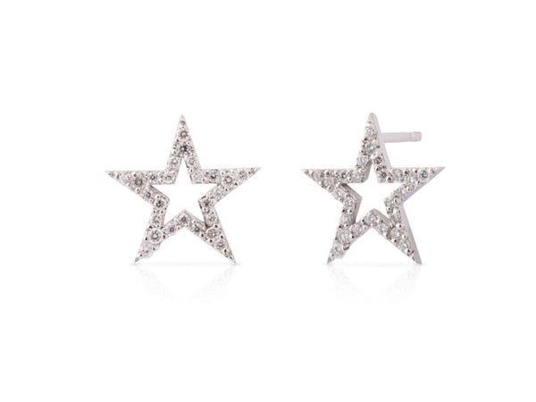 MOD Jewellery STAR DIAMOND EARRINGS MOD Jewellery