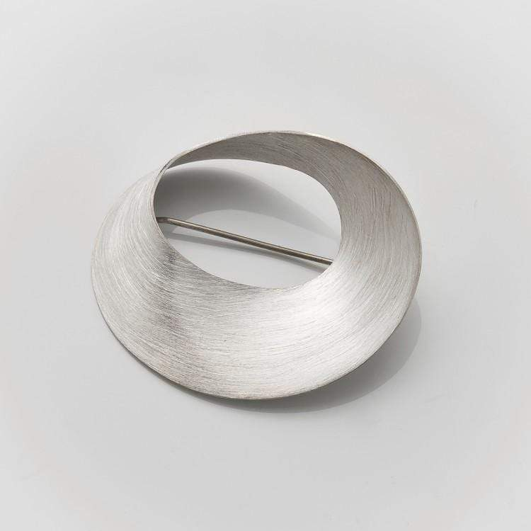 MOD Jewellery Wave Brooch MOD Jewellery - Sterling Silver