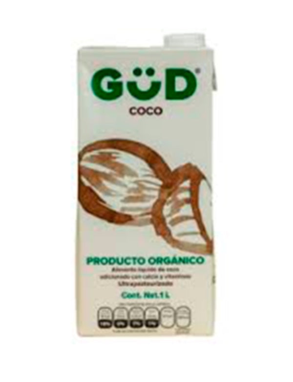 LIQUID FOOD OF COCONUT WITH ORGANIC SUGAR GÜD 1 lt