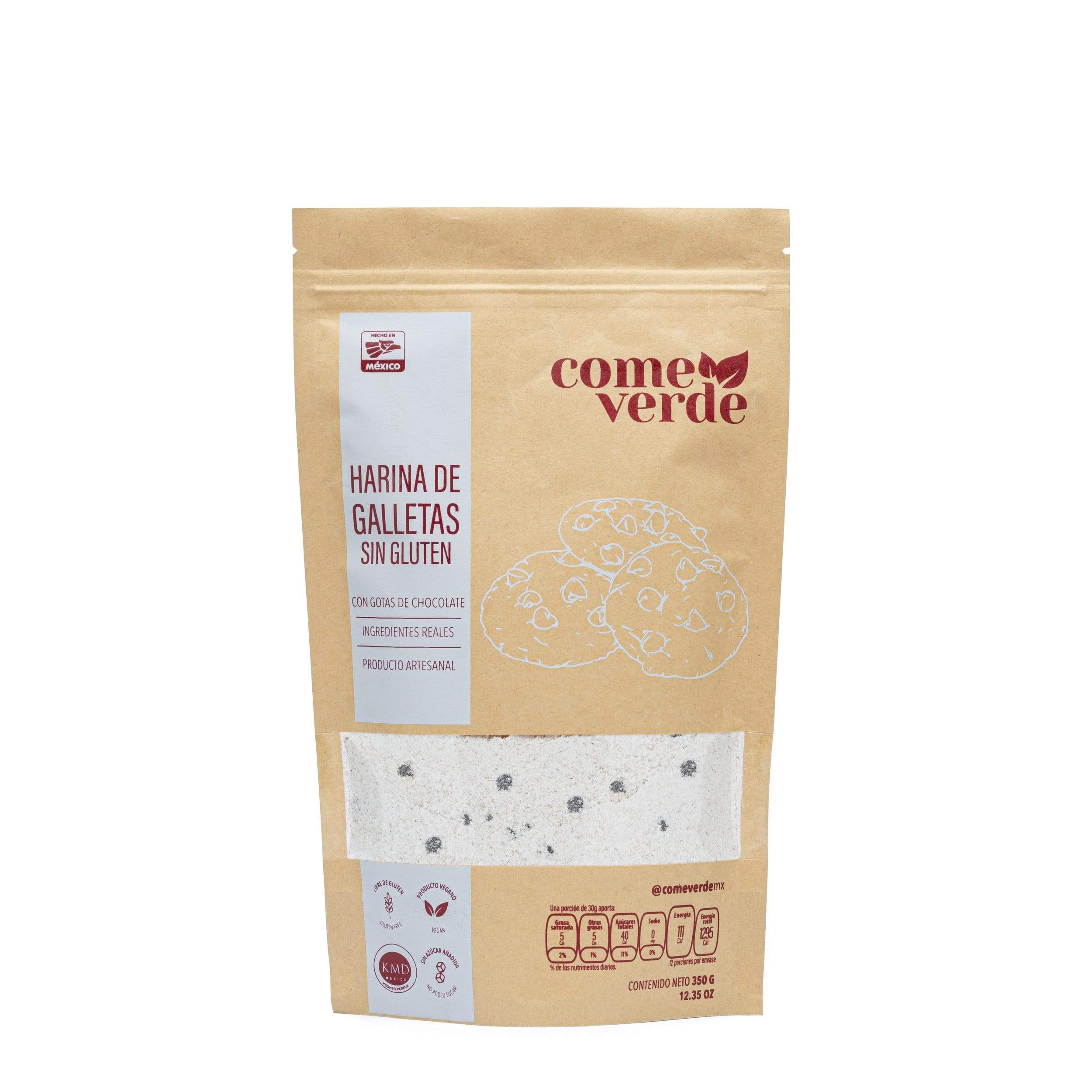COOKIE FLOUR GLUTEN FREE EAT GREEN 350 G