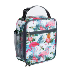 Heopono Portable BPA free Fitness Cool Box Boys Girls Children Thermal Lunch Box Kids Animal Printing School Insulated Lunch Bag