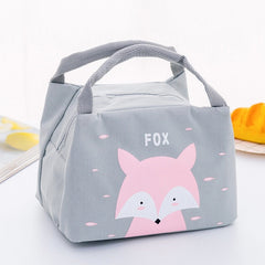 Cartoon Cute Lunch Bag For Women Girl Kids Children Thermal Insulated Lunch Box Tote Food Picnic Bag Milk Bottle Pouch