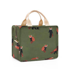 Functional Pattern Cooler Lunch Box Portable Insulated Canvas Lunch Bag Thermal Food Picnic Lunch Bags For Women Kids