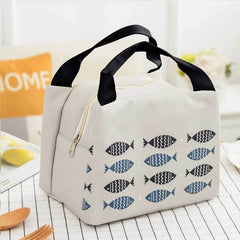 Portable Insulated Thermal Cooler Bento Lunch Box Tote Picnic Storage Bag Pouch Lunch Bags