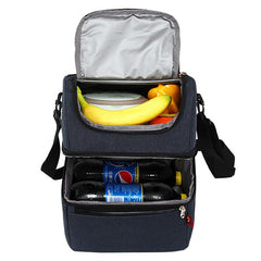 Simple And Stylish Thermo Lunch Bags Thermal Lunch Box For Kids Food Bag Picnic Bag Handbag Cooler Insulated Lunch Box