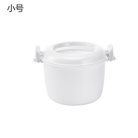 Portable Microwave Oven Rice Cooker Multifunctional food Steamer pot PP microwave cooking Utensils Insulation Bento Lunch Box