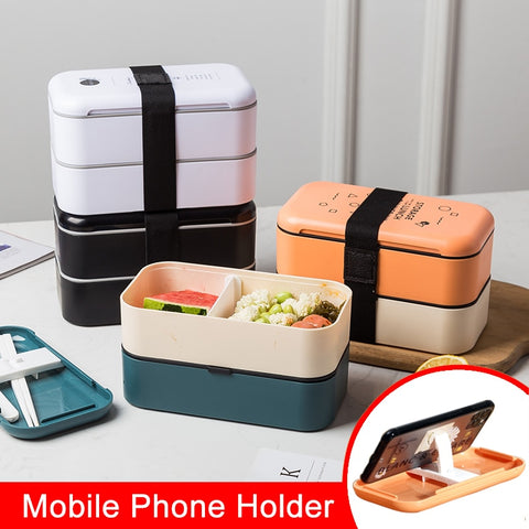 lunch box eco friendly food container bento Microwave heated lunch box for kids health food box lunchbox meal prep containers