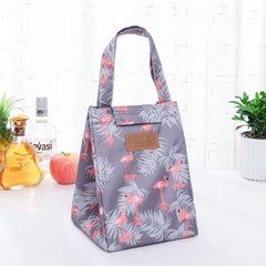 New Fresh Cooler Women Kids Men Picnic Bags Cactus Tote Insulation Cold Lunch Bags Box Thermal Oxford Waterproof Food Lunch Bags