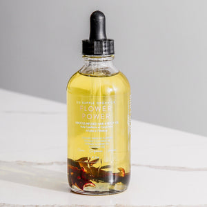 FLOWER POWER Hibiscus Infused Hair & Body Oil