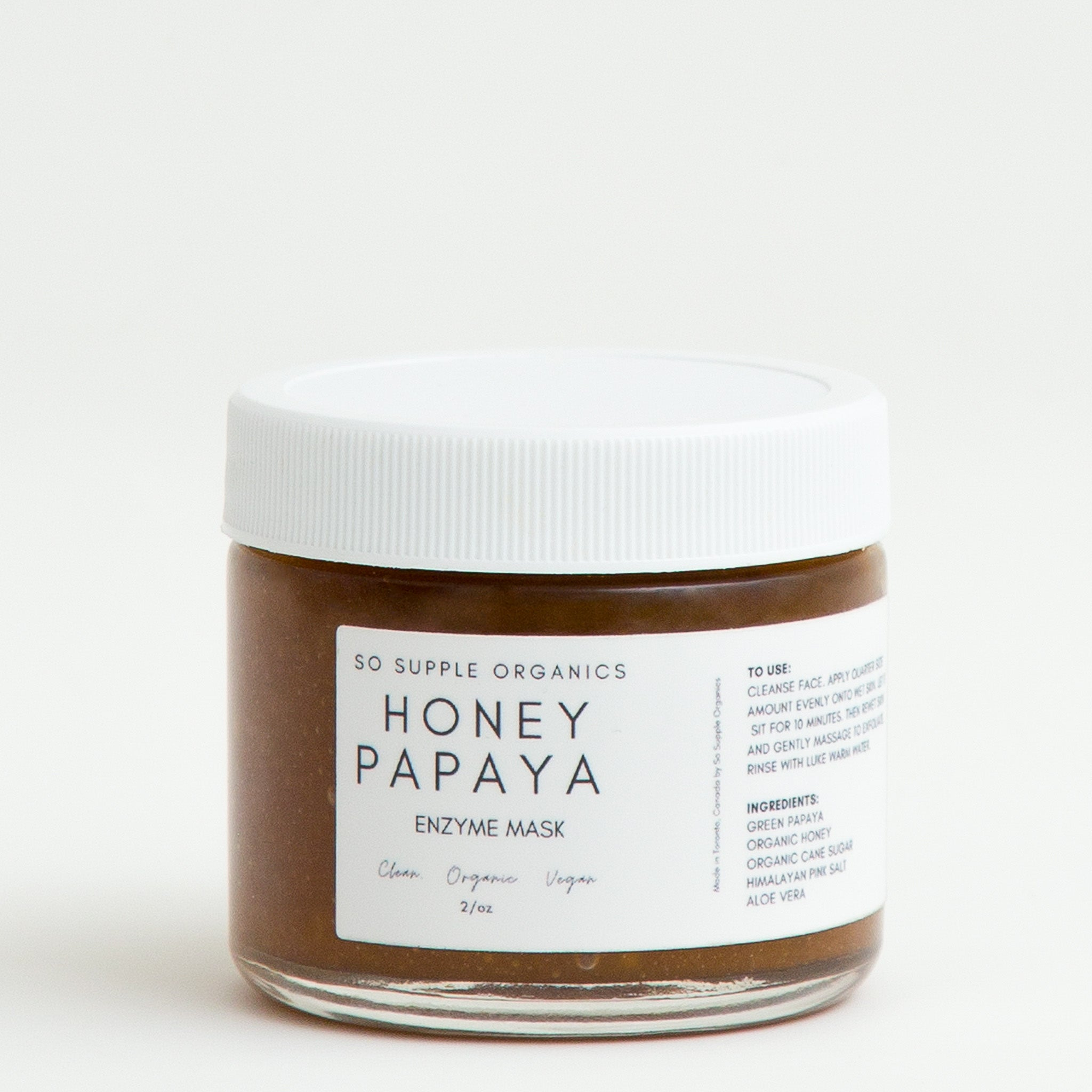HONEY PAPAYA Enzyme Mask