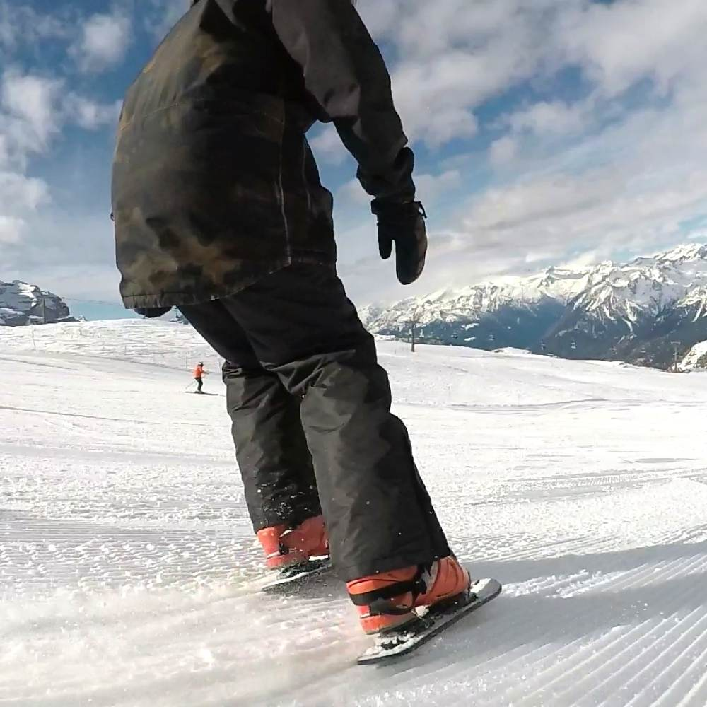 Skiskates Snowskates: They Are Basically Ice Skates For Ski Slopes