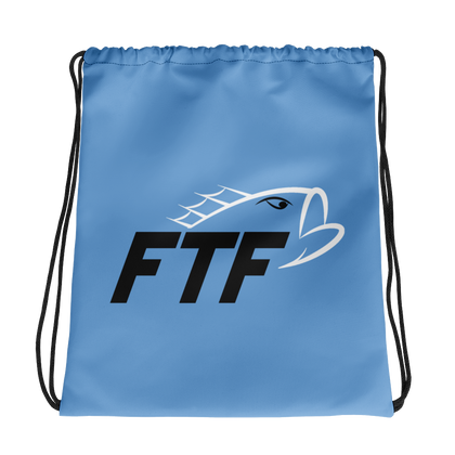 FTF Drawstring Bag (Blue)