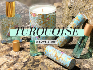 Scent Memories...Falling in Love with Turquoise Perfume