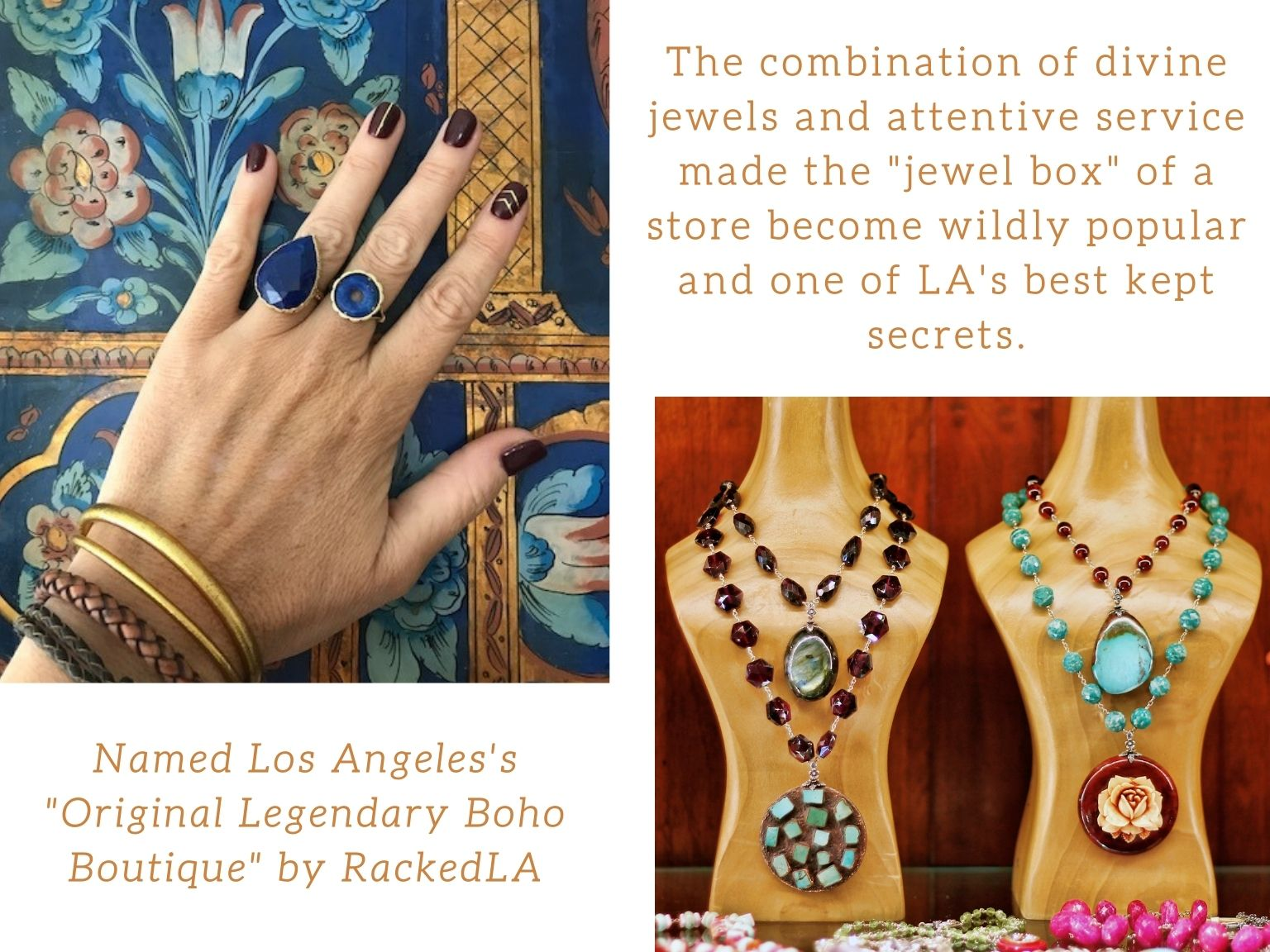 Jewelry Collections by Sage Machado