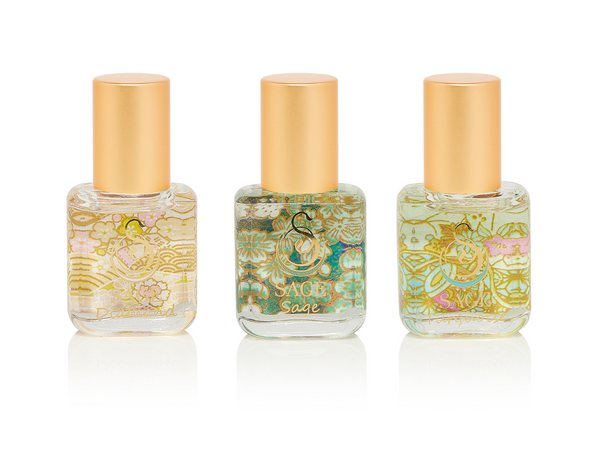 PETITE FRESH TRIO ~ Diamond, Sage, and Turquoise Perfume Oil Extract Gift Set by Sage - The Sage Lifestyle
