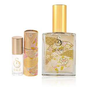 INDULGE ~ Diamond Gemstone Perfume Roll-On and EDT Gift Set by Sage - The Sage Lifestyle