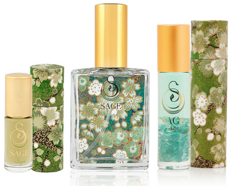 OBSESSION ~ Sage Gemstone Perfume Roll-On and EDT Gift Set by Sage - The Sage Lifestyle