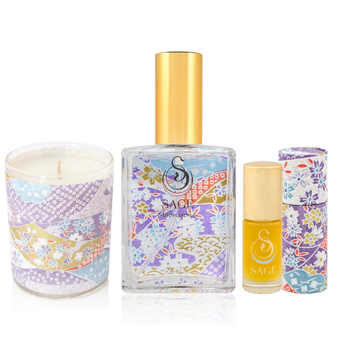 PERFUMISTA ~ Moonstone Gemstone Perfume Gift Set by Sage - The Sage Lifestyle