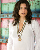 Michewa Tibetan Mala Necklace by Sage