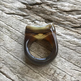Druzy Agate Ring by Sage Machado, One of a kind Druzy Ring by Sage DR14 - The Sage Lifestyle