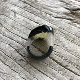 Druzy Agate Ring by Sage Machado, One of a kind Druzy Ring by Sage DR2 - The Sage Lifestyle