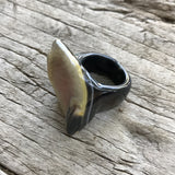Druzy Agate Ring by Sage Machado, One of a kind Druzy Ring by Sage DR4 - The Sage Lifestyle