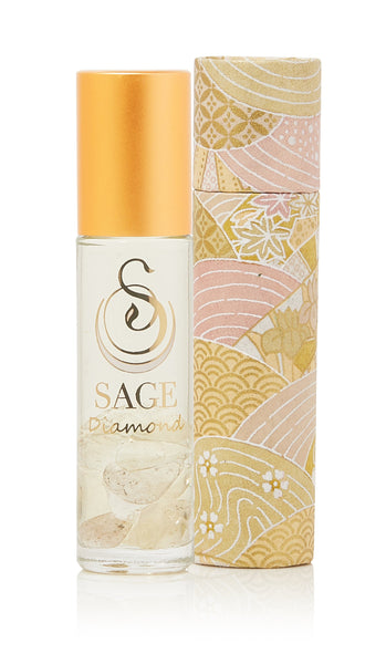 OBSESSION ~ Diamond Gemstone Perfume Roll-On and EDT Gift Set by Sage - The Sage Lifestyle