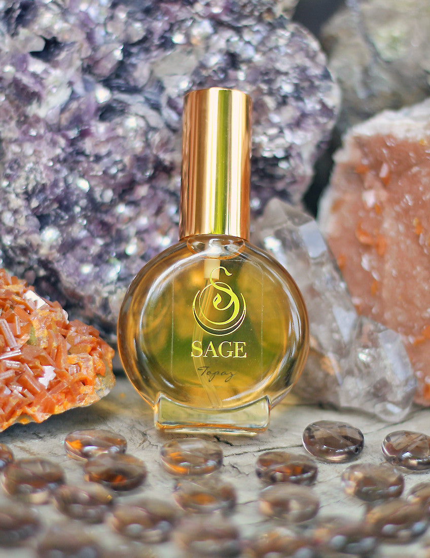 Topaz 1/2oz Eau de Toilette Mini by Sage - Niche Perfume - Vegan Perfume - The Sage Lifestyle