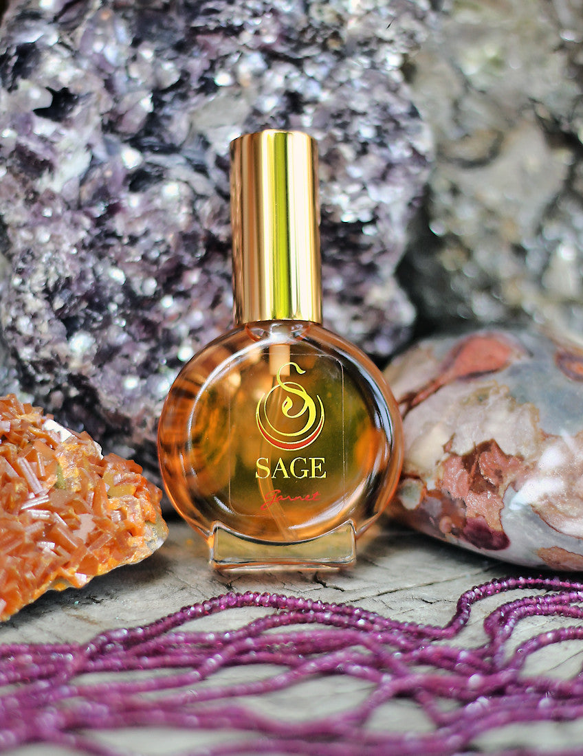 Garnet 1/2oz Eau de Toilette Mini by Sage - Niche Perfume - Vegan Perfume - The Sage Lifestyle