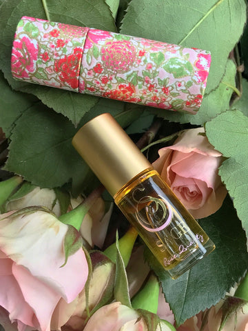 SAGE ROSE QUARTZ ROLL-ON PERFUME OIL - ROSE QUARTZ PERFUME OIL BY SAGE