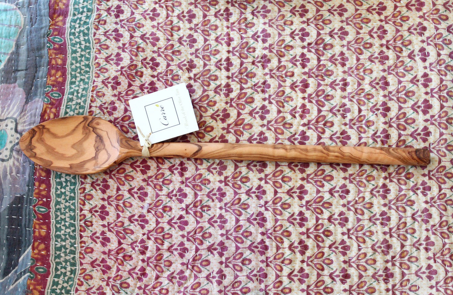Olive Wood Cook's Spoon - The Sage Lifestyle