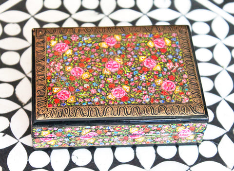 Hand Painted Jewelry Box at Sage - The Sage Lifestyle