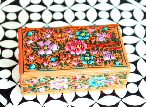 Hand Painted Jewelry Box at Sage