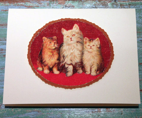 The Three Cats Greeting Card at The Sage Lifestyle - The Sage Lifestyle